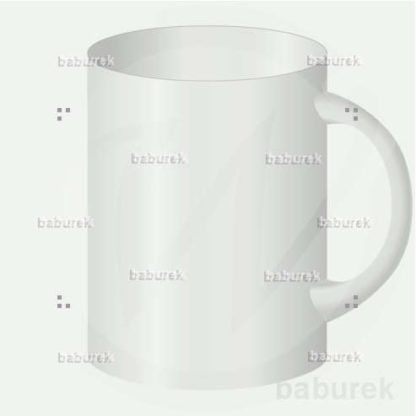 Large white cup