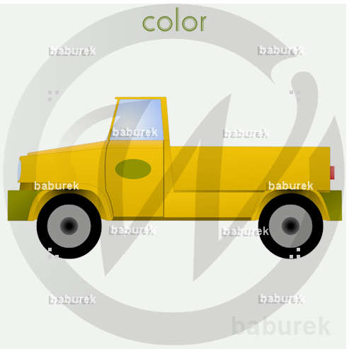 yellow pick up 001