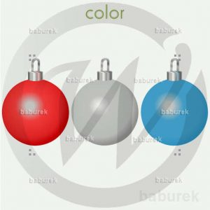 decorations - colorful balls