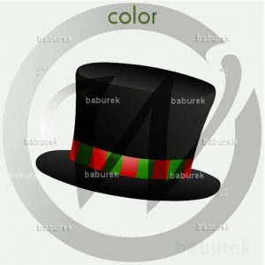 christmas top hat