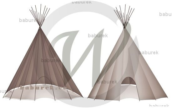 Tipi illustrations