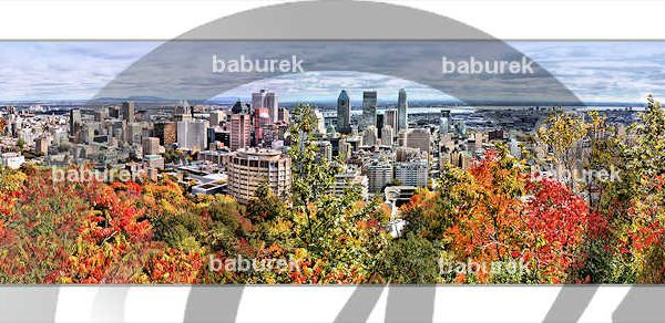 Autumn in Montreal - Panoramic