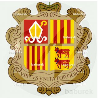 Andorra coat of arms