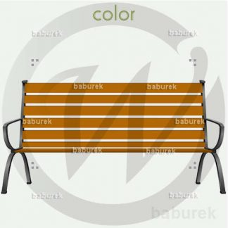 """R"" Park Bench"