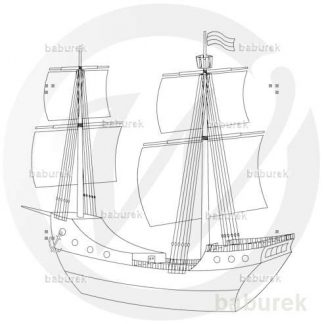 17ct. Sail Ship