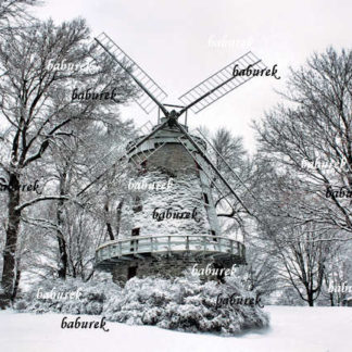 Fleming Mill in Winter